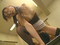 Horny adult movie orgasm related: facial try to watch for pretty one