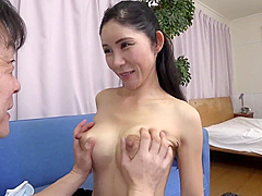 Old girls give cute blowjob