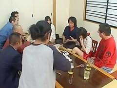 Riku Shiina Uncensored Hardcore Video with Gangbang, Swallow scenes